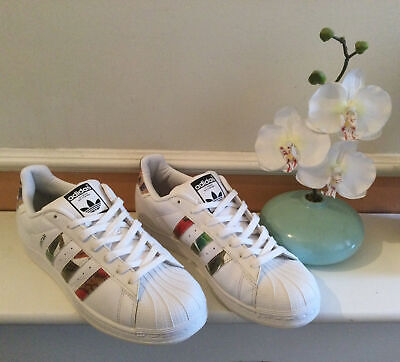 AU26.68 • Buy Adidas  Superstar Trainers /camo White Men's Sneaker Shoes  Size 8 Uk Good V G C