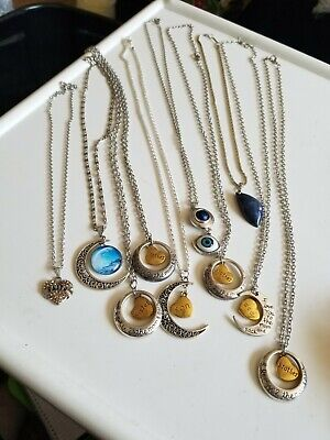 $ CDN13.79 • Buy Lot Of 10 Necklaces  Love You To The Moon & Back, Lapis, Faith, Eye Etc