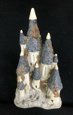 £69.47 • Buy David Winter ~ FAIRYTALE CASTLE ~ MIB ~ COA ~ ISSUED 1982 ~ VERY COLORFUL