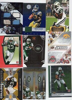 AU7.76 • Buy Shonn  Greene Titans 9 Card Lot Tools Of Trade Quad Jersey Plus Rookies