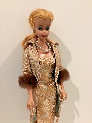 $ CDN51.38 • Buy Vintage #4 Blonde Ponytail Barbie Doll In Evening Splendour Outfit