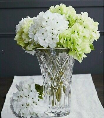 """Waterford Crystal Cassidy Vase 10"""" / 25 Cm Brand New RRP £220 • 159.99£"""