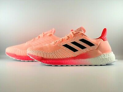 $ CDN93.98 • Buy Adidas Solarboost 19 Running Shoes Women Size 7.5 Orange Black Pink FW7822