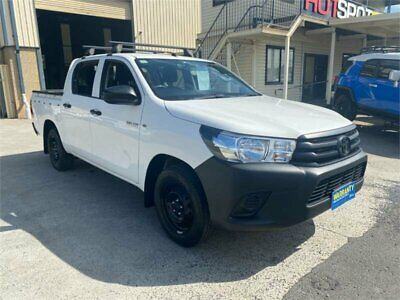 AU26950 • Buy 2016 Toyota Hilux TGN121R Workmate White Automatic 6sp A Utility