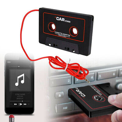 £3.42 • Buy 3.5MM AUX Car Audio Cassette Tape Adapter Converter For IPod Android MP3 IPhone