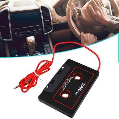 £3.49 • Buy AUX Audio Car Cassette Tape Adapter Converter 3.5MM For IPhone IPod Android MP3