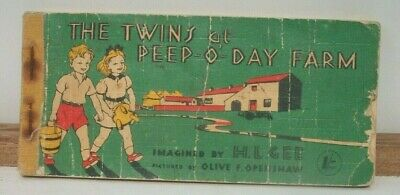 £4.99 • Buy 1950's Book The Twins At Peep-o-day Farm H Gee O Openshaw Mary Mouse Series