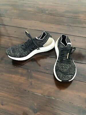 $ CDN121.47 • Buy Adidas Women's UltraBoost 'Uncaged' Running Shoes In Black With Gold Speckle