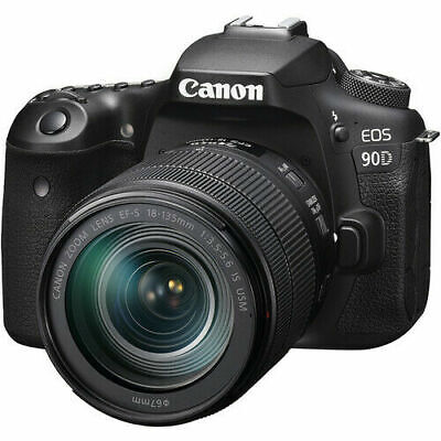 AU2223.37 • Buy Canon 90D Kit With EF-S 18-135mm F/3.5-5.6  IS USM Lens- Next Day UK Delivery.