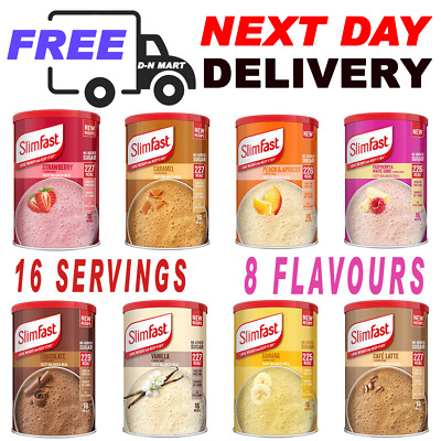 £11.29 • Buy SlimFast High Protein Meal Replacement Powder Shake 12 Servings