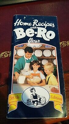 Vintage Home Recipe With Be-Ro Flour Book 38th Edition 1989 • 19.99£