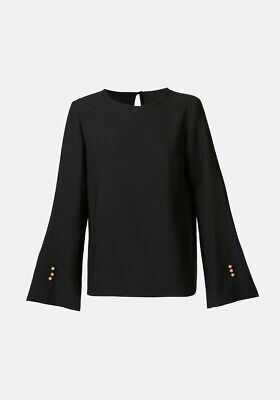 AU100 • Buy Viktoria & Woods Aalto Top Black Size 0 BNWT