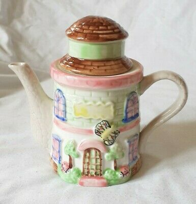 £8 • Buy Ornamental Country Cottage Teapot