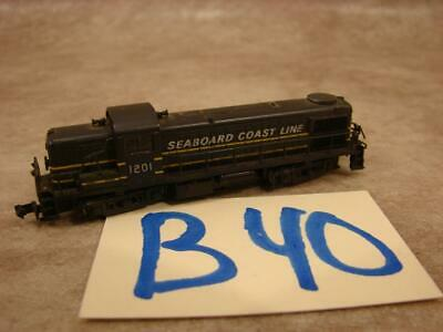 AU32.30 • Buy B40b Vintage N Scale Locomotive Diesel 1201 Seaboard Coast Line 17708 Japan