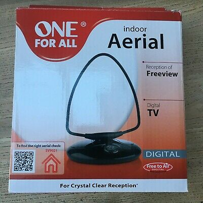 £7 • Buy One For All SV9021 Recives Freeview (DVB-T/T2) Digital Television Signals USED