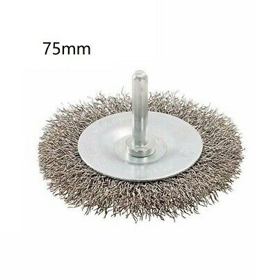 $ CDN20.31 • Buy Wire Wheel Wire Brush Flat Brush 6mm Shank Cleaning Tool Set New Hot Sale