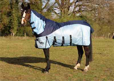 £43.94 • Buy Horse Fly Rug 600 D Waterproof Turnout Top Lightweight Combo Mesh Fly Rug
