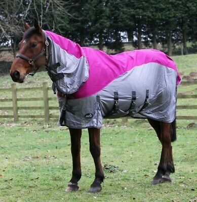 £47.99 • Buy Horse Fly Rug With Turnout Top Hybrid Fly Rug 600D Waterproof Top Lightweight