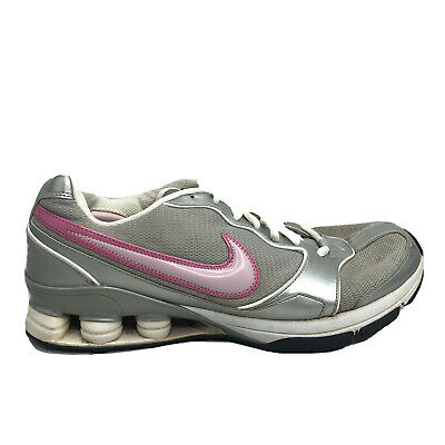 $ CDN42.38 • Buy Nike Shox TG Running Shoes Womens Size 11 Gray White Sneakers NO INSOLES 318667
