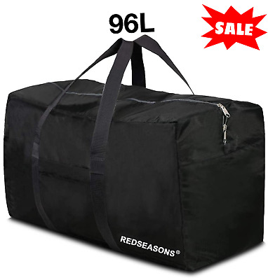 $17.99 • Buy Extra Large Foldable Duffle Bag Travel Luggage Sports Gym Tote Men Women 96L NEW