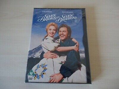 £3.60 • Buy Seven Brides For Seven Brothers (DVD, 2001)  New And Sealed