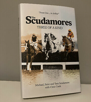 £15.99 • Buy The Scuadmores - Three Of A Kind - Horse Racing Sport Scudamore Hardback Book