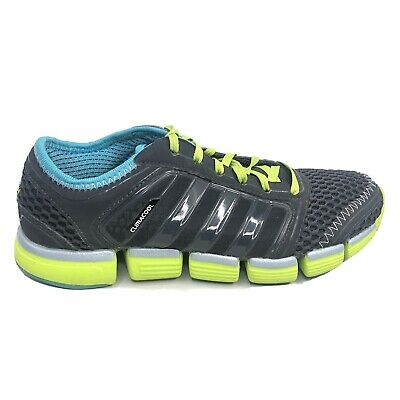 $ CDN48.43 • Buy Adidas Climacool Running Shoes Womens Size 6.5 6 1/2 Black Gray Green Sneakers