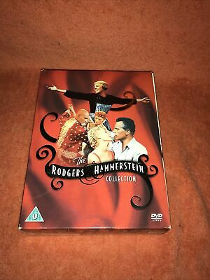 £7.99 • Buy Rodgers And Hammerstein DVD Boxset - 6 Disc Set - Excellent Condition