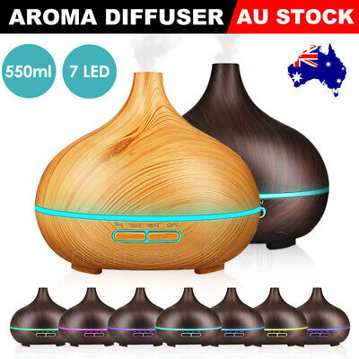 AU18.99 • Buy Aroma Aromatherapy Diffuser Essential Oil Ultrasonic LED Air Humidifier Purifier