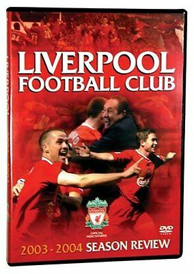 £22.99 • Buy As New! Liverpool FC DVD End Of Season Review 2003/2004 03/04