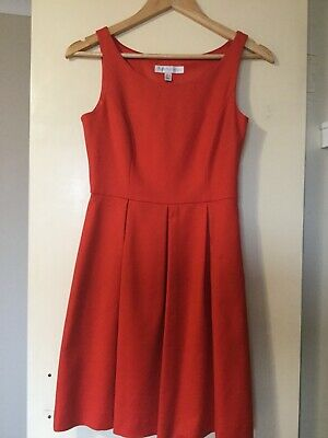 AU15 • Buy Forever New Woman Red Dress Size 8