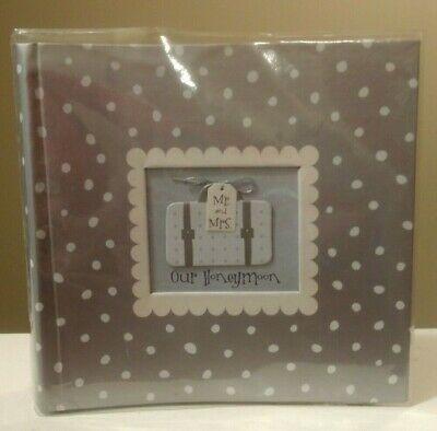 £3.55 • Buy New Seasons  Mr. And Mrs. Our Honeymoon  Photo Album/Record Book