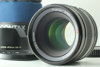 $ CDN3629.73 • Buy 【 N MINT+++ W/ HOOD & CASE 】 Contax Carl Zeiss Planar 80mm F/2 T* AF From JAPAN