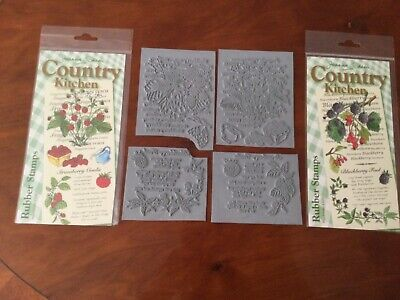 £10 • Buy Joanna Sheen's Country Kitchen Stamps - Set Of 2