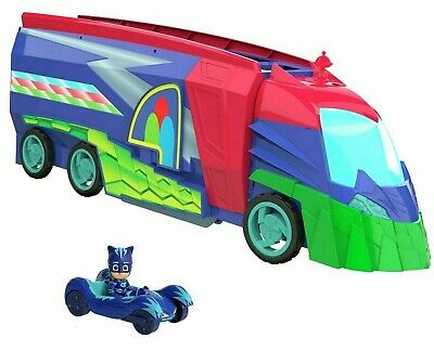 £55.99 • Buy PJ Masks 2 In 1 Mobile HQ Transforming(No Packaging -See Pics) 95805 - Pre-owned