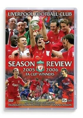 £10.98 • Buy NEW! Liverpool FC DVD End Of Season Review 2005/2006 05/06