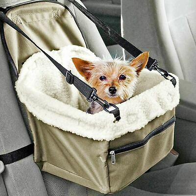 £12.90 • Buy Folding Dog Travel Booster Bag Cat Puppy Pet Car Seat Carrier Safety Belt Cover