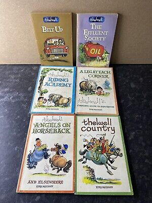 £50.99 • Buy Bundle Of 6 Collectible Norman Thelwell Retro Pony 1970s Paperback Story Books