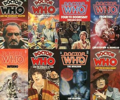 Doctor Who - Target Novels Lots Available (please See List For Titles) • 3.50£