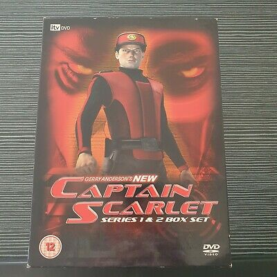 £16.99 • Buy Gerry Anderson's New Captain Scarlet: Complete Series 1 And 2 DVD Box Set.