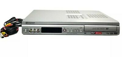 £35.79 • Buy Pioneer DVR-231 DVD Recorder, Player, W Cables Progressive, No Remote *TESTED*