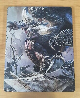 AU60 • Buy Monster Hunter World Steelbook & Game PS4 | Playstation 4 *Great Condition, RARE