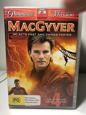 $11.42 • Buy DVD - MacGyver - The Complete Fourth Season 4/Series Four - FREE POST #P5