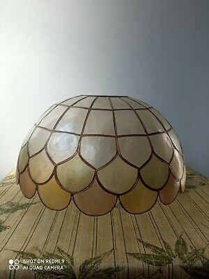 £79.99 • Buy French Vintage Capiz Shell Lampshade