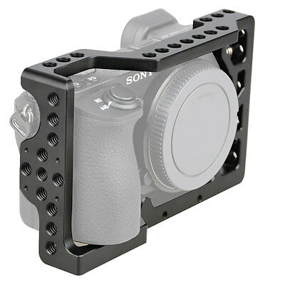 $ CDN23 • Buy AU Stock CAMVATE Camera Cage Rig With 1/4-20 Mount For Sony A6500 ILCE-6500 4K