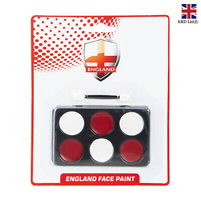 £3.50 • Buy FACE PAINT Red White England Flag St Geroge Day Cricket Rugby Fancy Dress 329017