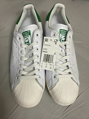 $ CDN24.75 • Buy Adidas Superstar Stan Smith Mens 9.5 White/Green NIB DS