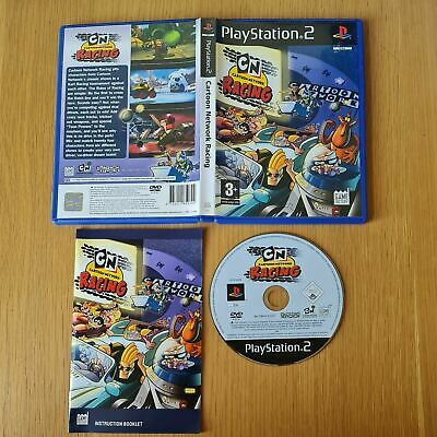 £9.99 • Buy Cartoon Network Racing Playstation 2 Ps2 Pal Game Complete With Manual Free P&p