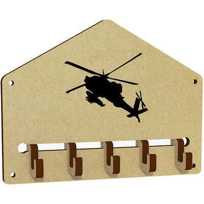 $6.94 • Buy 'Military Helicopter' Wall Mounted Key Hooks / Holder (WH00040149)