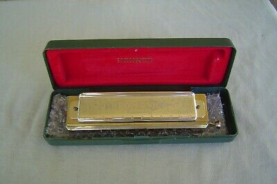 $67.50 • Buy Cleaned And Refurb M. Hohner  The Super Chromonica  Model 270  C  With Hard Case